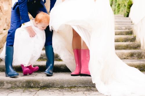 Kaplaarzen op je bruiloft.